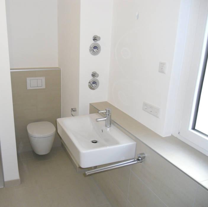 Das Badezimmer Aufhübschen Mit Kleinem Budget: Badezimmer Auf Kleinem Raum