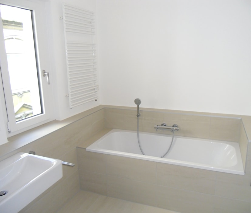 Badezimmer auf kleinstem raum: badezimmer von ...