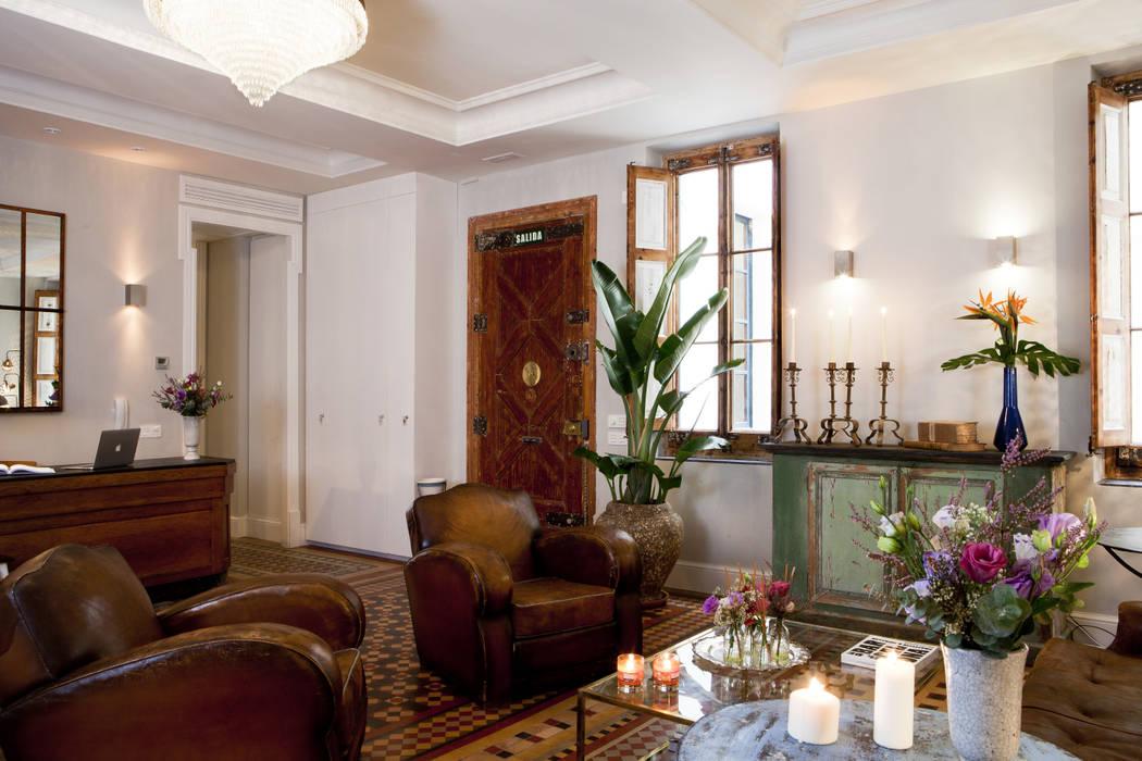 Hotel Boutique Pillow Rooms Hoteles de estilo ecléctico de Abelux Ecléctico