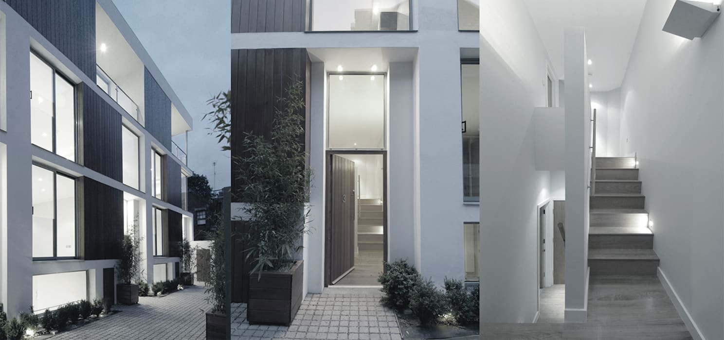 Notting Hill Townhouses:  Houses by Clarke Renner Architects,