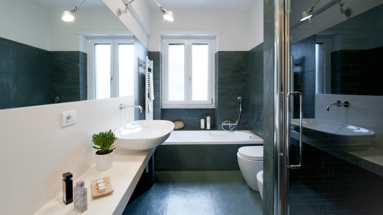 Ванная комната в стиле модерн от Archifacturing Модерн