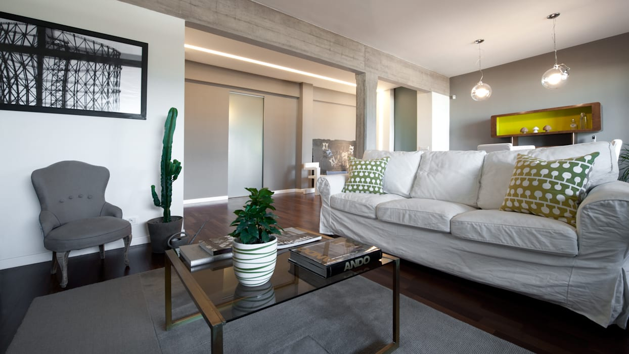 Modern Living Room by Archifacturing Modern