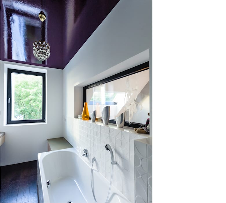 bad _ 3. obergeschoß Moderne Badezimmer von beissel schmidt architekten Modern