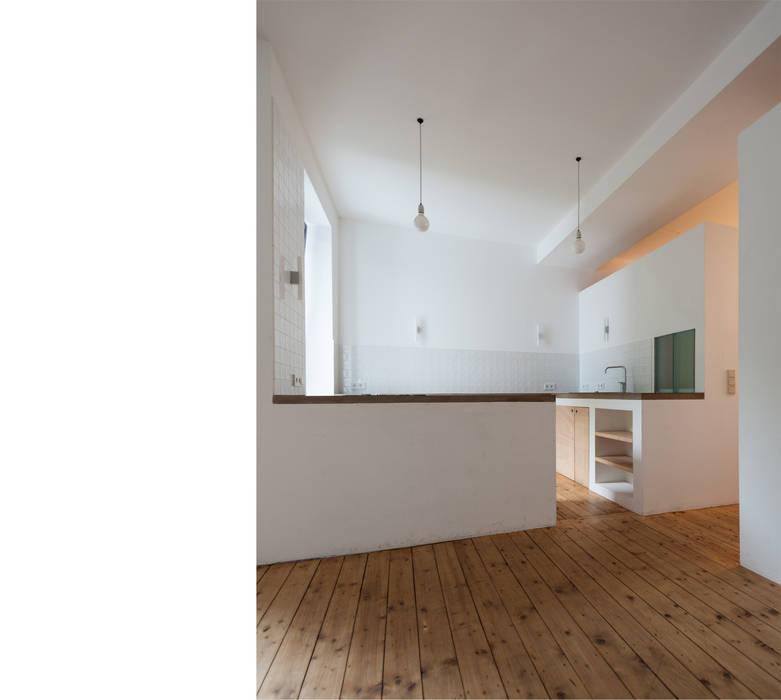 Projekty,  Kuchnia zaprojektowane przez beissel schmidt architekten, Nowoczesny