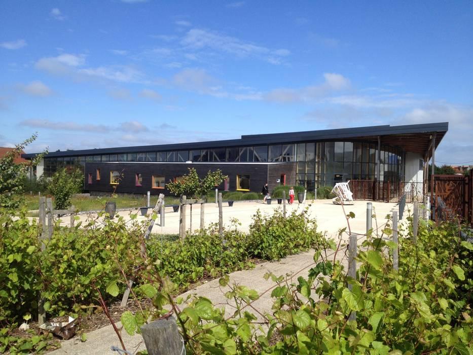 Médiathèque de Le Portel Centre d'expositions modernes par arietur Moderne