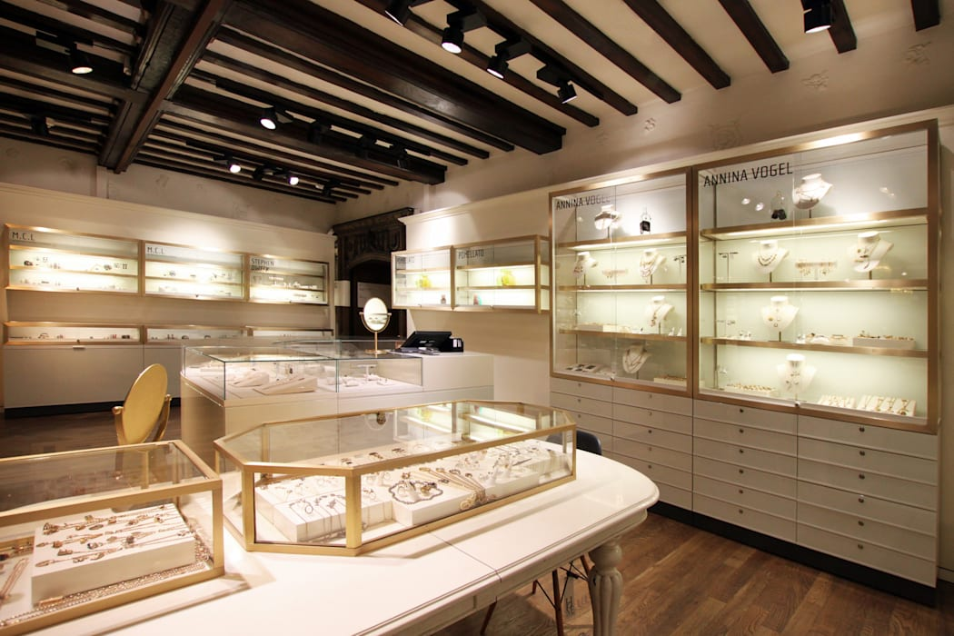 Liberty - Jewellery Emporium Modern shopping centres by Tendeter Modern