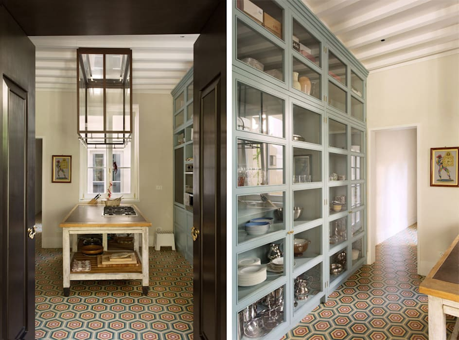 S.Monaca Townhouse: Cucina in stile in stile Eclettico di Luigi Fragola Architects