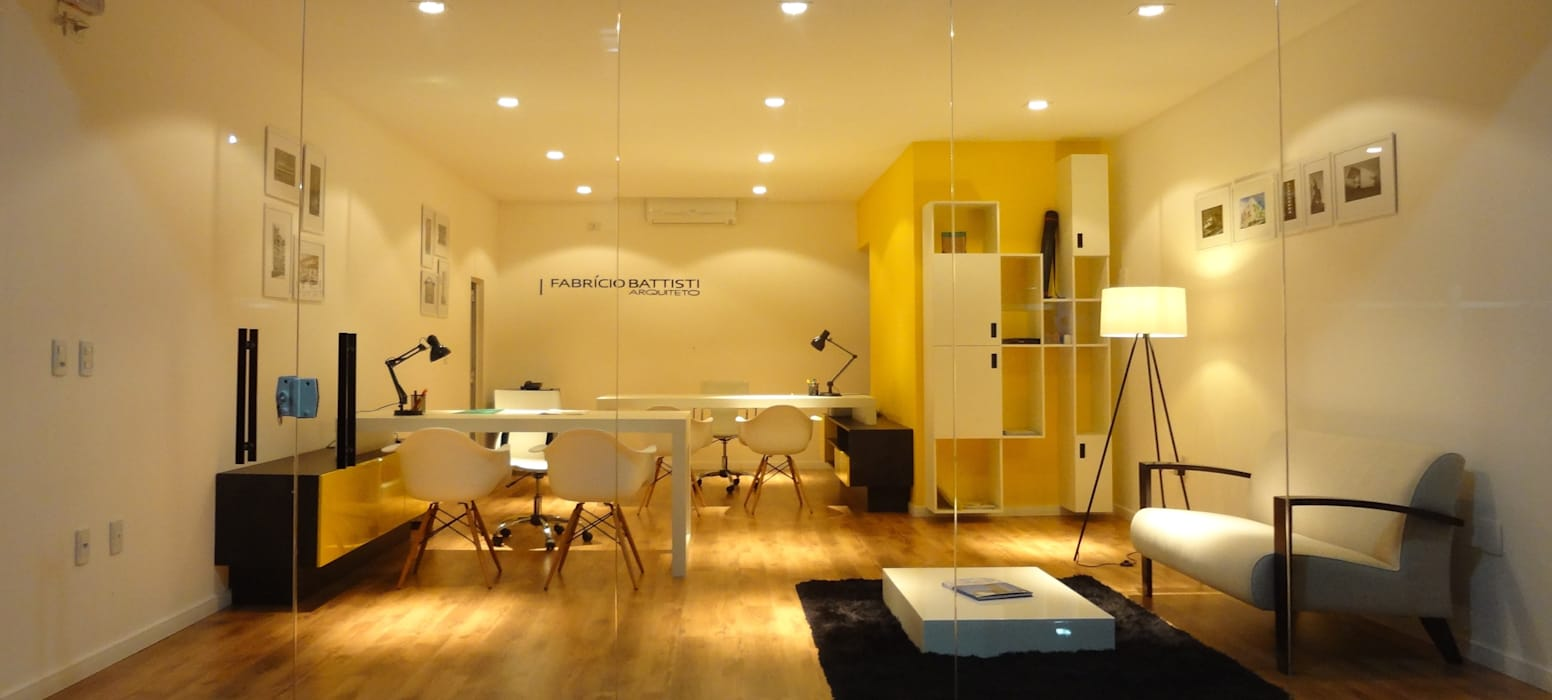 Studio Fabricio Battisti Espaces de bureaux modernes