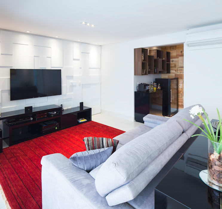 Sala de estar Salas de estar ecléticas por ArkDek Eclético