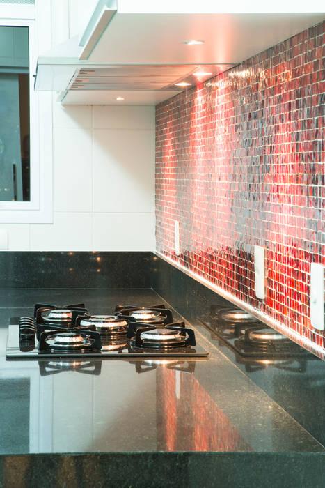 Cozinha detalhe Cozinhas ecléticas por ArkDek Eclético