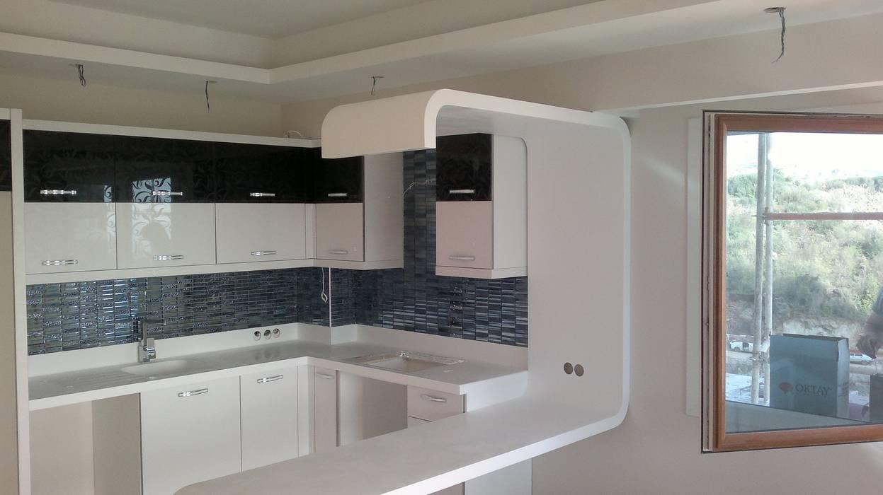 KROKİ İÇ MİMARLIK Modern kitchen