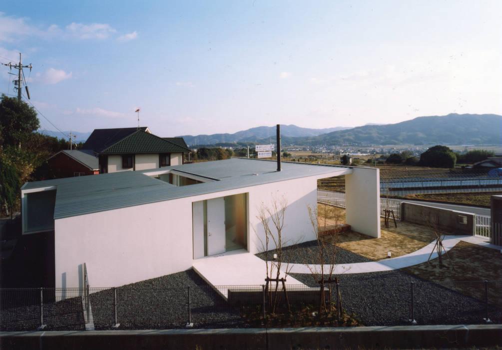全景写真: 小平惠一建築研究所が手掛けた家です。