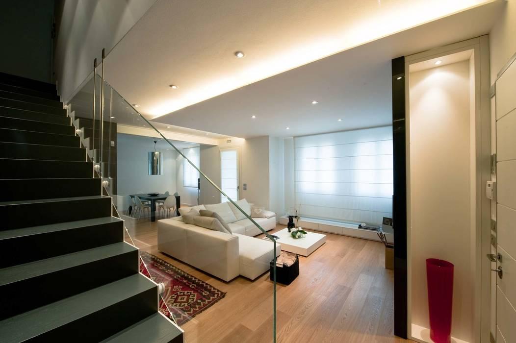 Гостиная в стиле минимализм от SANSON ARCHITETTI Минимализм