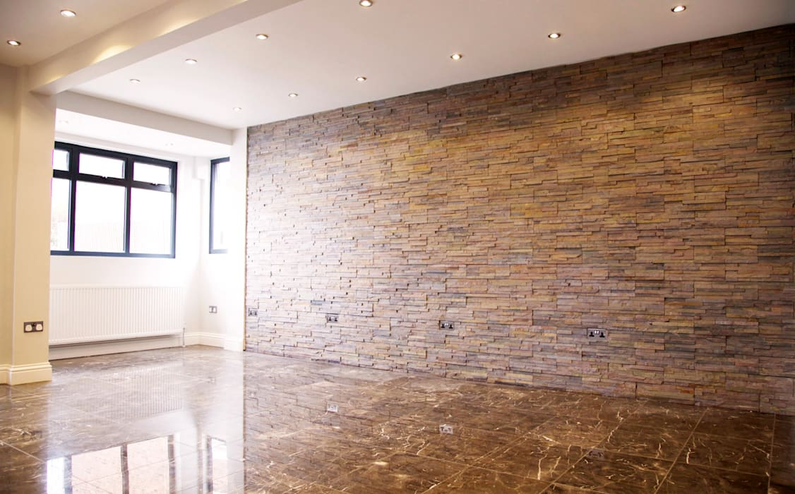 The Barnet Full Conversion:  Walls by The Market Design & Build