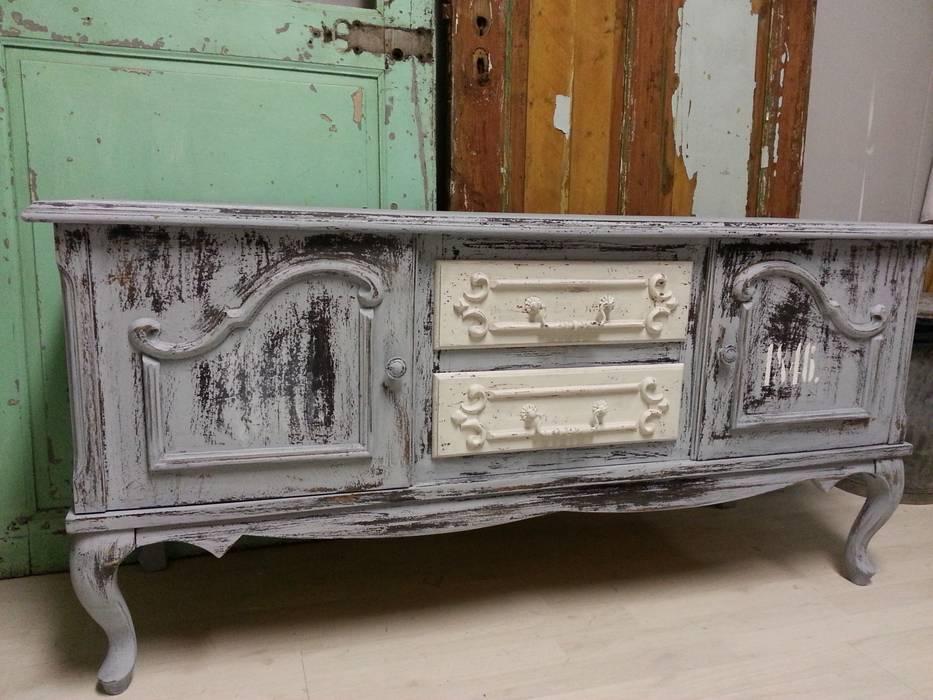 Brocante Tv Meubel.Van Oude Kast Naar Tv Kast Van Gustaviaans Vintage Homestyle