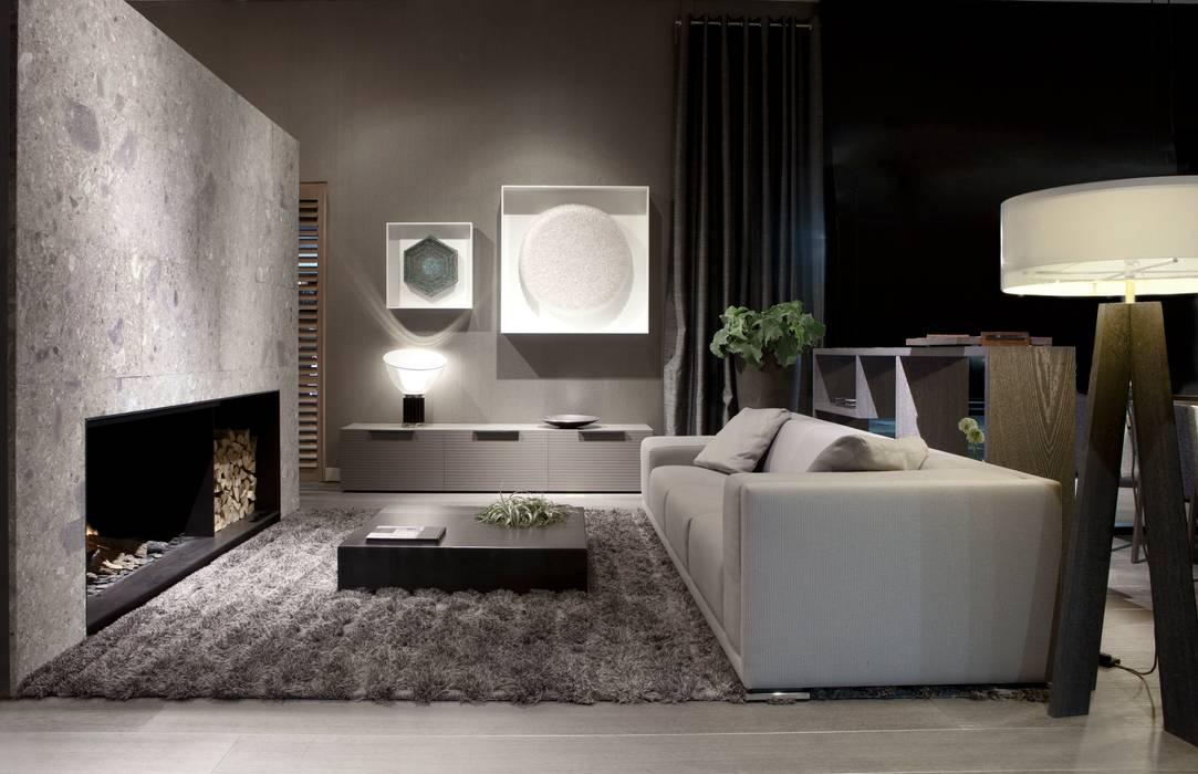 Kunstwerk Led It Be en Be Bold Minimalistische woonkamers van Matthijs Wateler-art Minimalistisch