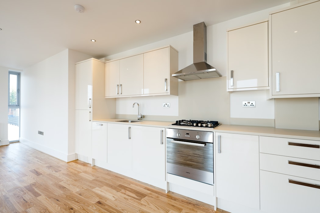 Gipsy Hill Granit Architects Minimalist kitchen