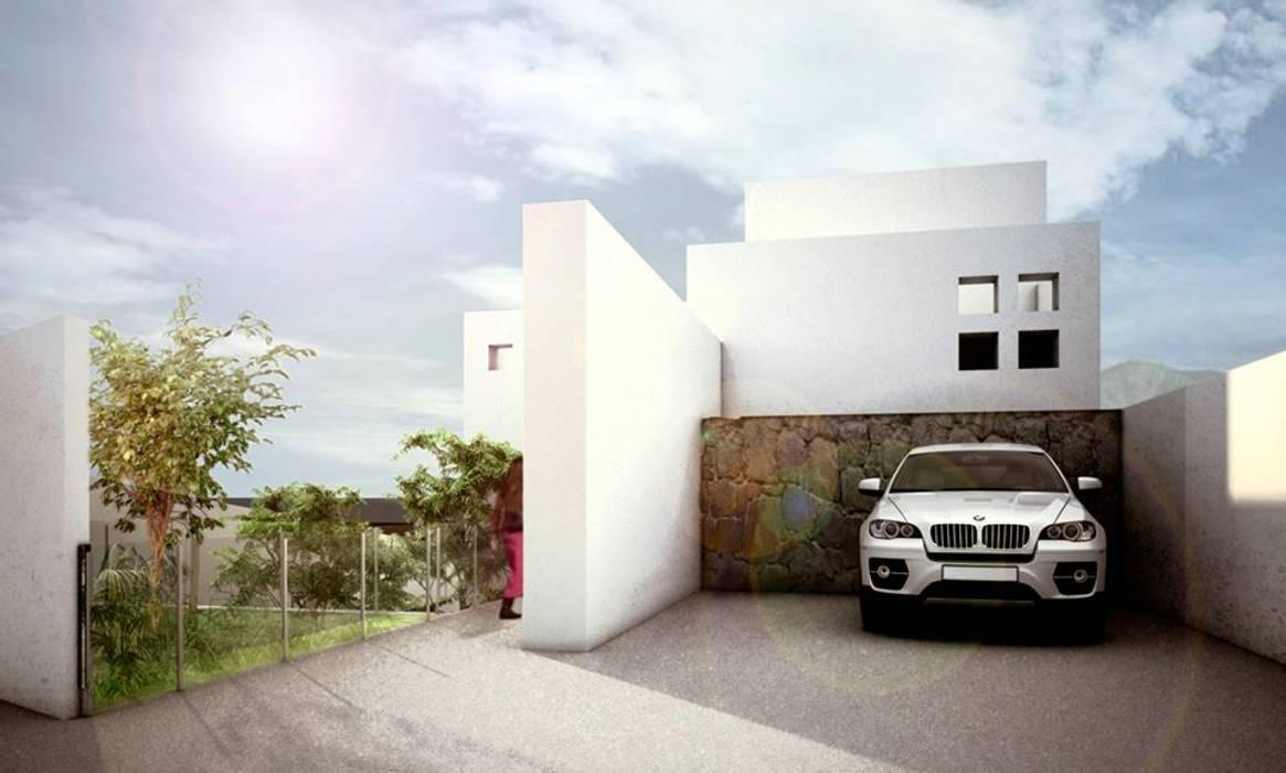 Amanali I: Casas de estilo  por REA + m3 Taller de Arquitectura