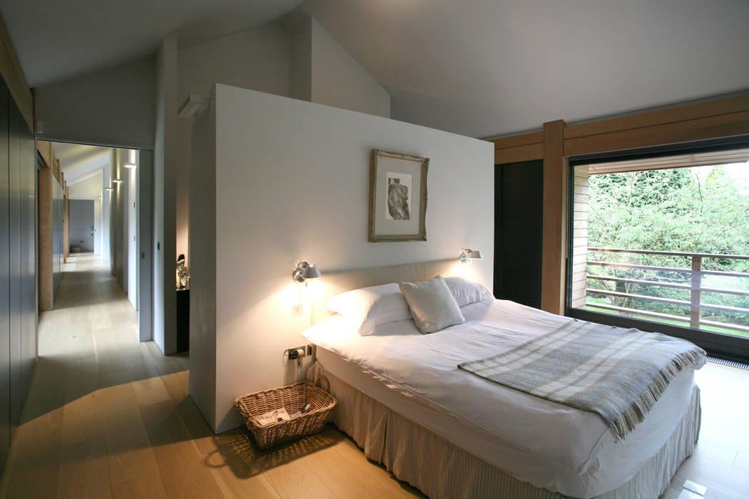 ห้องนอน โดย Nicolas Tye Architects,