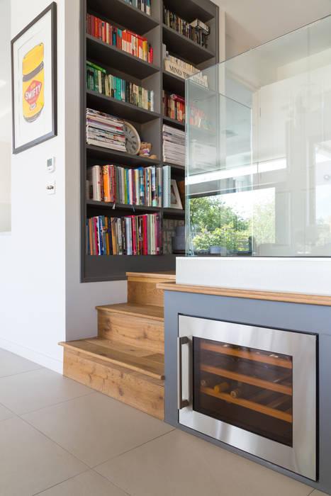 Broadgates Road Granit Architects Pasillos, vestíbulos y escaleras de estilo moderno