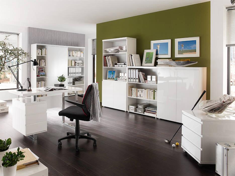 Meble biurowe Syndy : styl , w kategorii Domowe biuro i gabinet zaprojektowany przez mebel4u