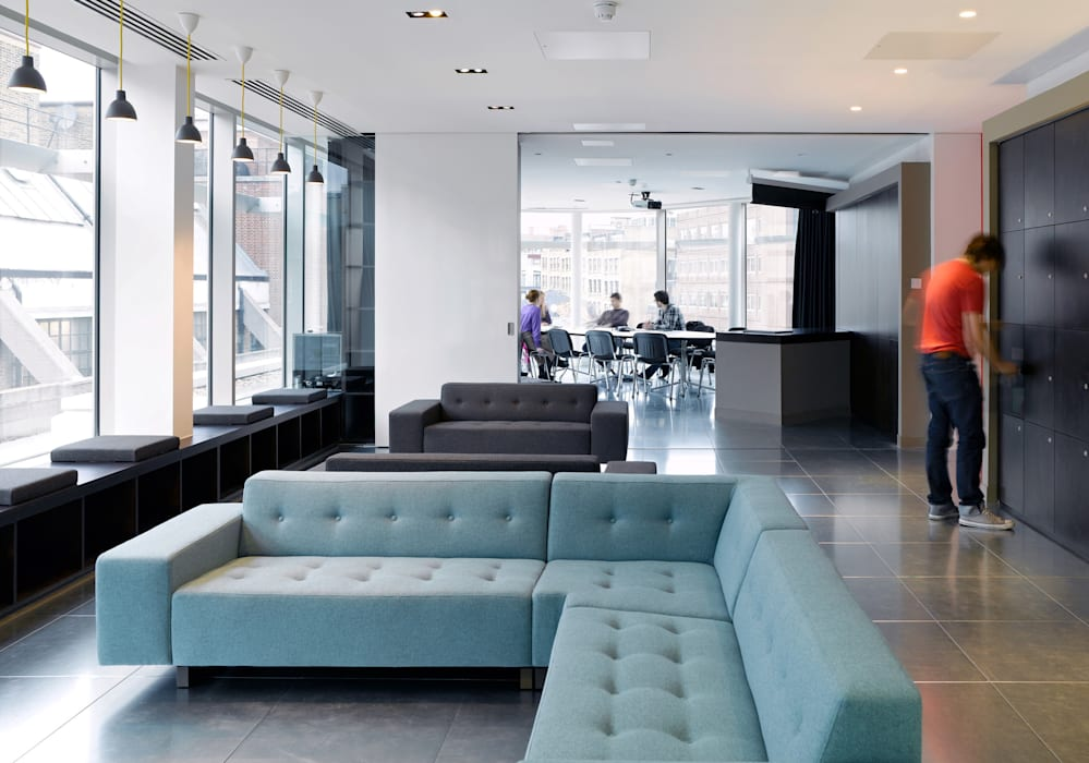 Anomaly, London Modern office buildings by Hitch Mylius Modern