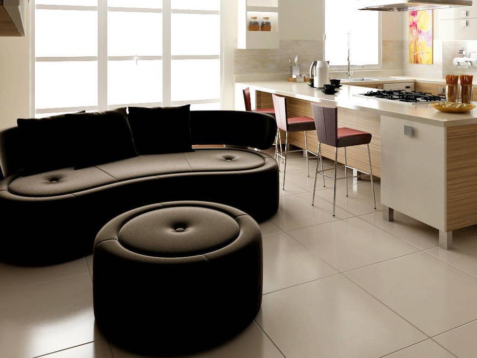 levent tekin iç mimarlık KitchenCabinets & shelves