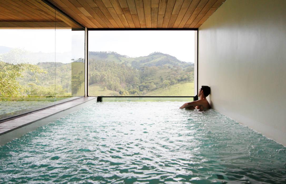 Spa de estilo  por Coletivo de Arquitetos, Minimalista