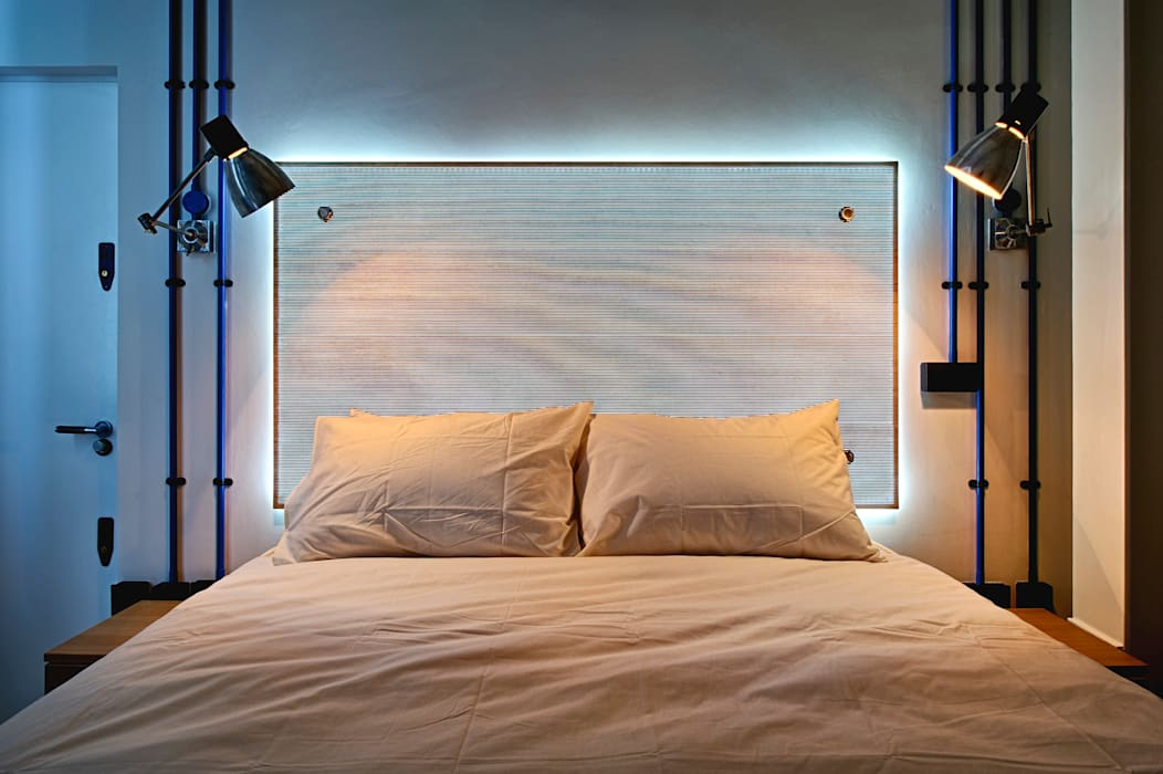 Bespoke Furniture designed by WMOR Adventure In Architecture BedroomBeds & headboards