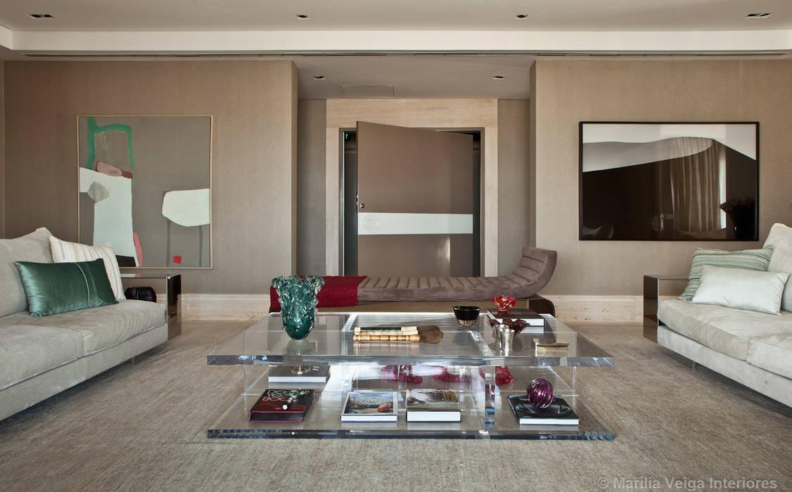 Modern Living Room by Marilia Veiga Interiores Modern
