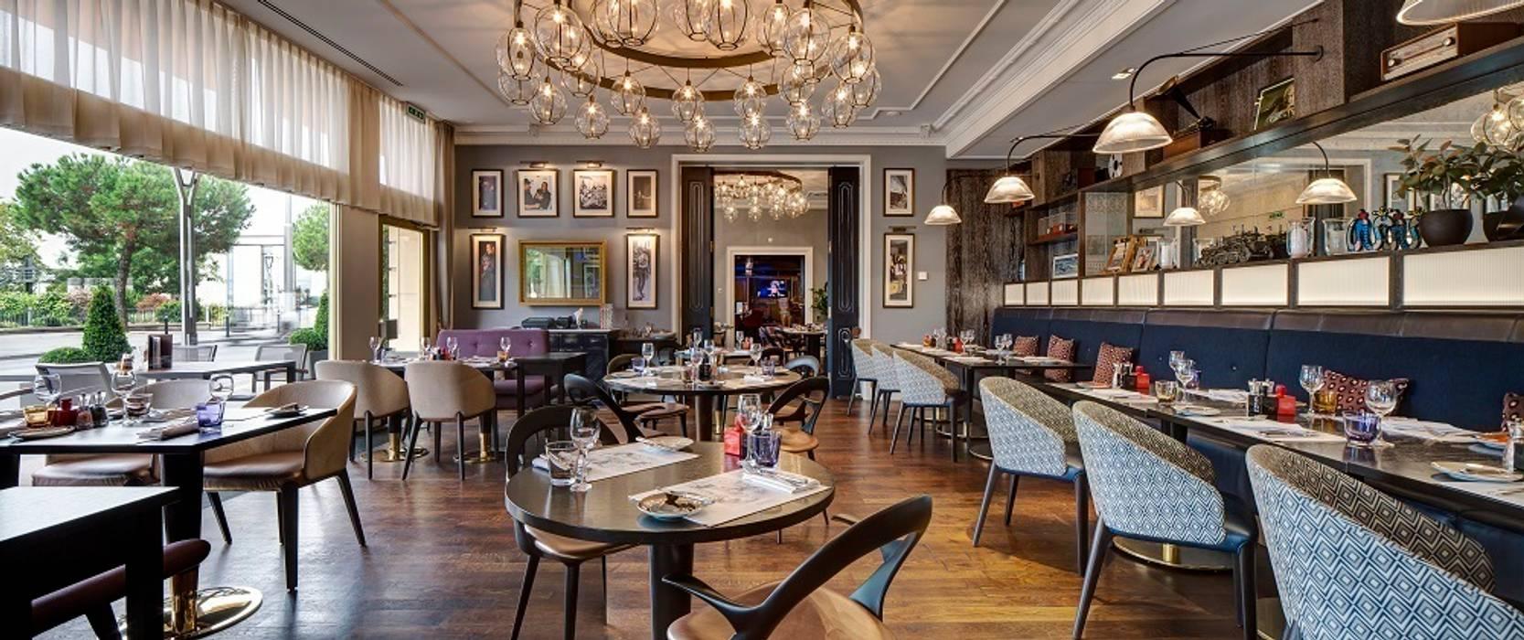 Montreux Jazz Café Fairmont by Aedas Interiors:  Gastronomy by Aedas,