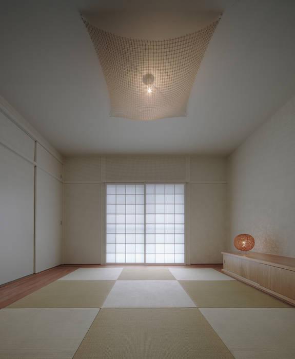 客室: UZUが手掛けた寝室です。