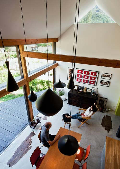 Livings de estilo escandinavo de UZU Escandinavo