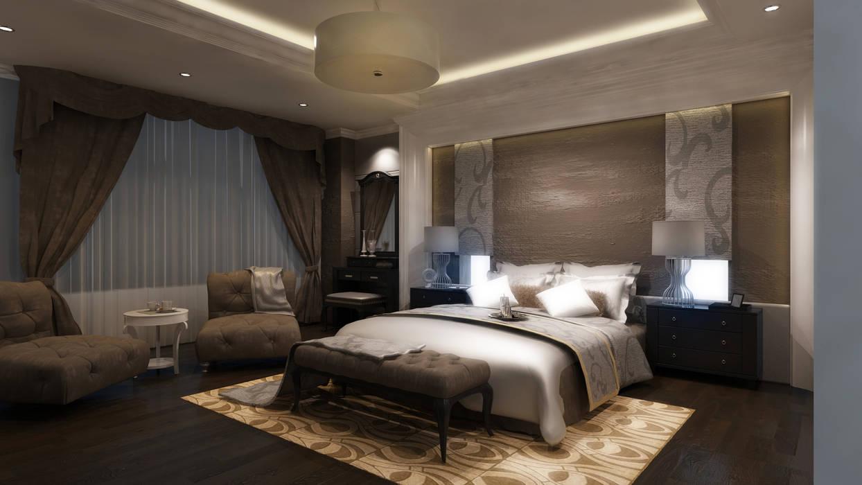 Ayaz Ergin İç Mimarlık Dormitorios de estilo moderno