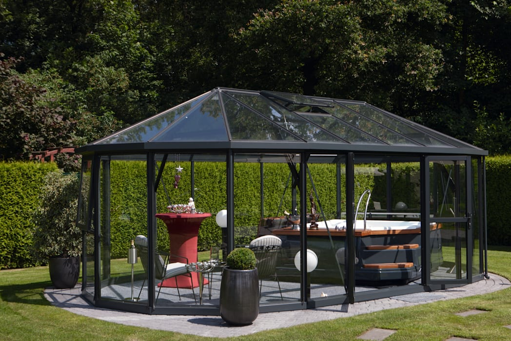 Whirlpool im wintergarten: spa von löchte gmbh | homify