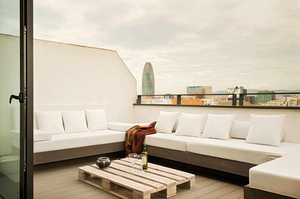 Patios & Decks by estudioitales, Modern
