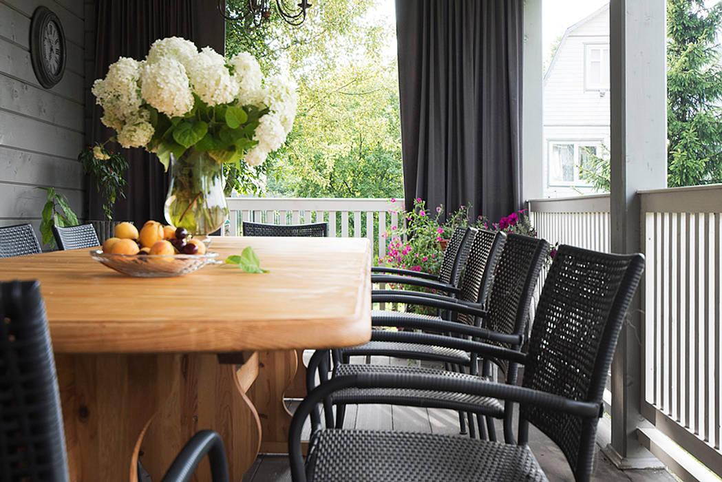 Scandinavian style garden by COUTURE INTERIORS Scandinavian