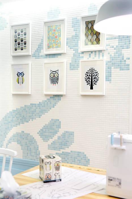 """Kleenex """"eco-Decor"""" Casa Decor 2014 Diseño de ferias de estilo mediterráneo de Egue y Seta Mediterráneo"""