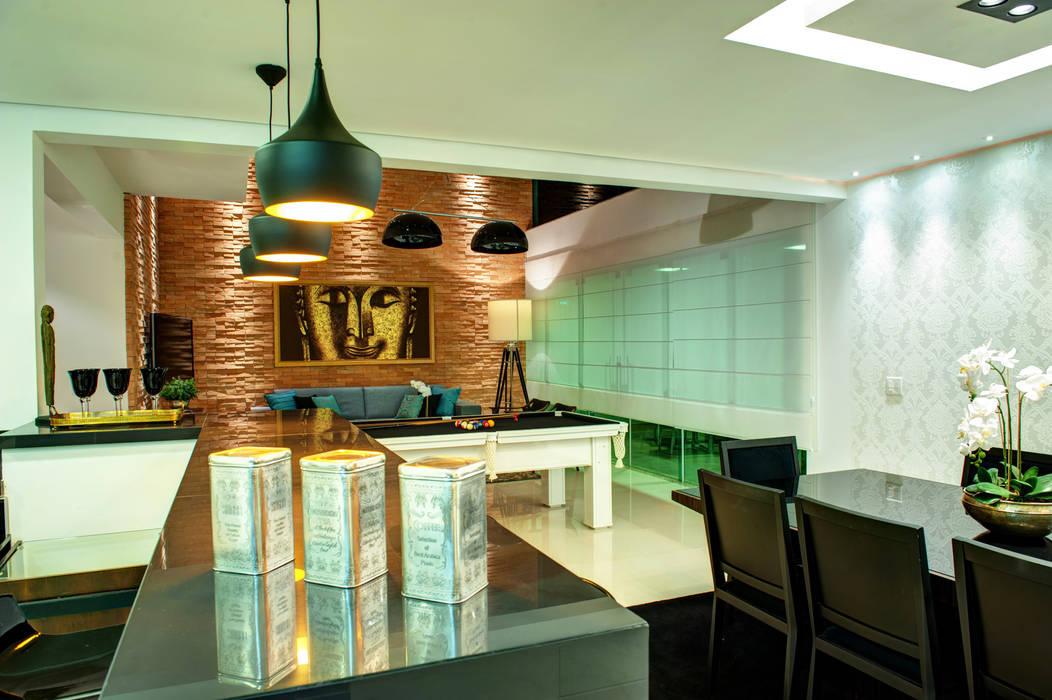 Comedores de estilo moderno de Renato Lincoln - Studio de Arquitetura Moderno