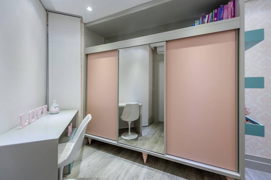 Projeto 17 - Residência clean Quarto infantil moderno por GREISSE PANAZZOLO ARQUITETURA Moderno