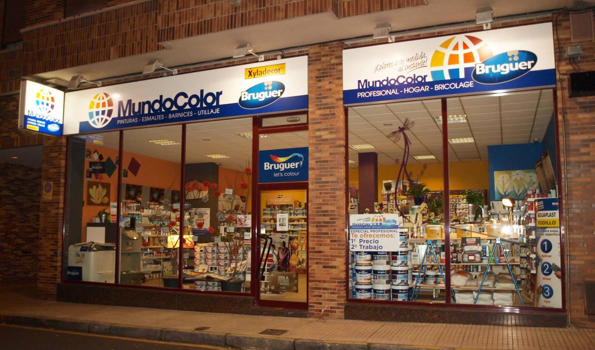 MundoColor Gijón: Oficinas y Tiendas de estilo  de MundoColor Bruguer