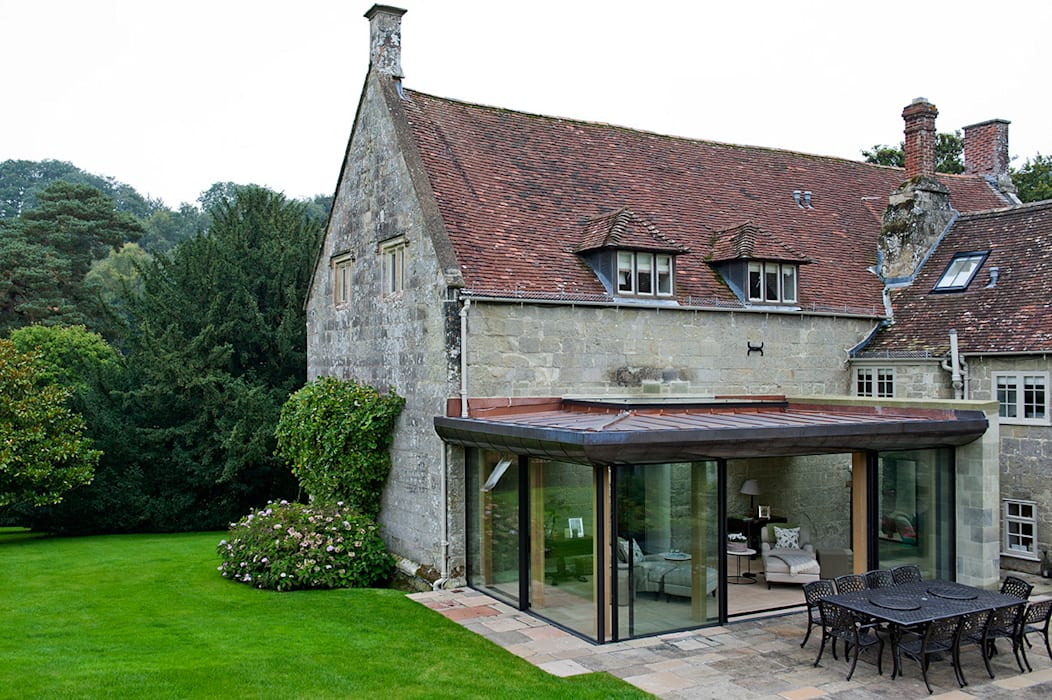 Ansty Manor, Exterior Country style houses by BLA Architects Country