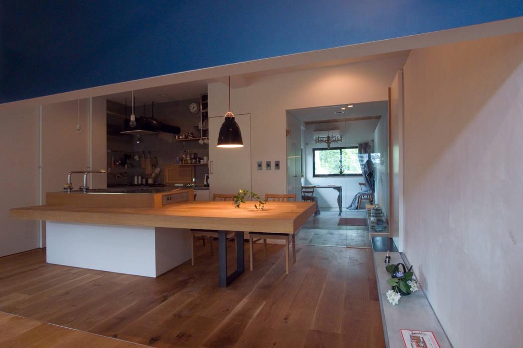 Dining room by 一級建築士事務所ageha., Modern