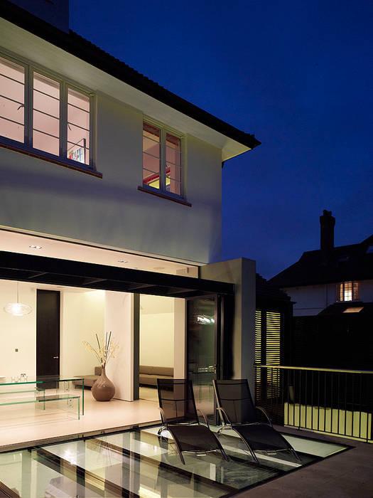 Sheen Lane, Exterior Modern houses by BLA Architects Modern