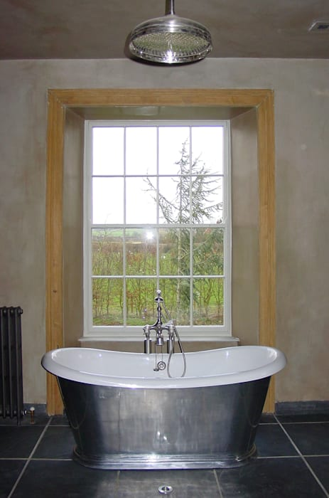 Churchill Heath Farm, Bathroom Country style bathroom by BLA Architects Country