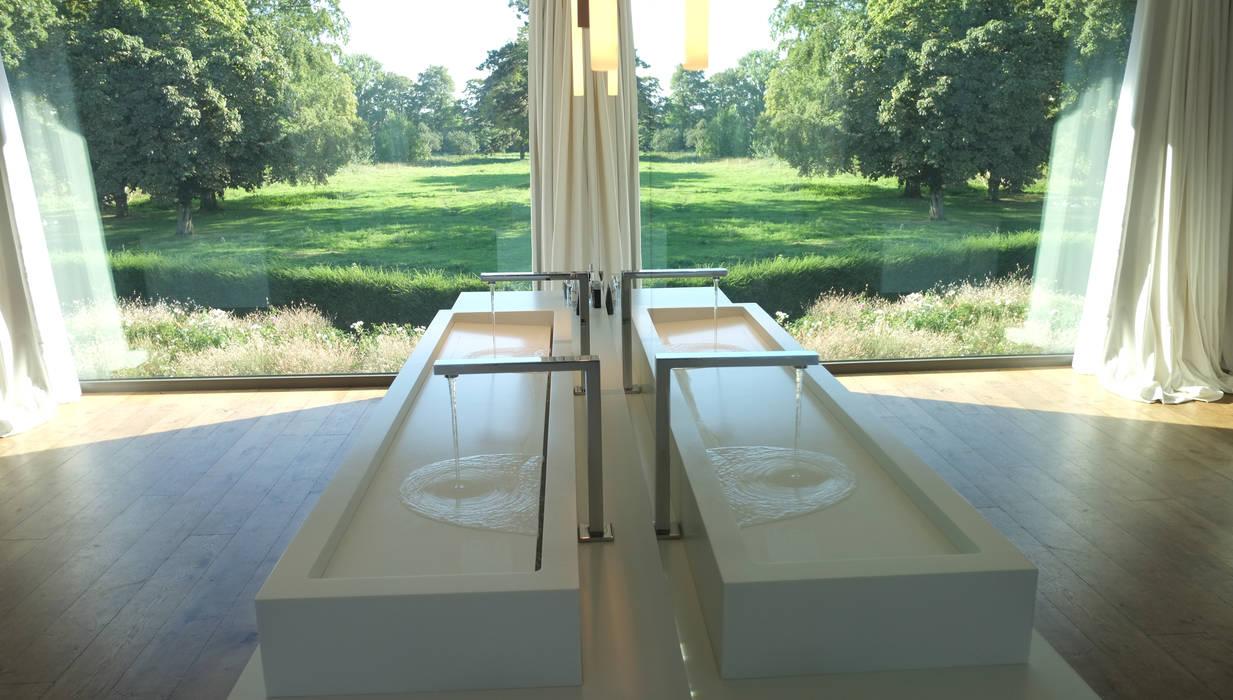 Salle de bain Salle de bain minimaliste par GUILLAUME DA SILVA ARCHITECTURE INTERIEURE Minimaliste