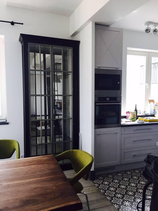 apartament Mokotów Warszawa dwa poziomy 150 m 2 od livinghome wnętrza Katarzyna Sybilska Eklektyczny