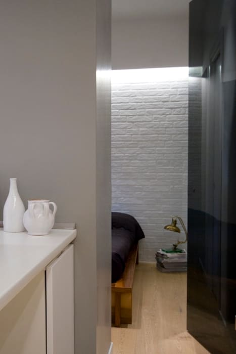 Спальня в стиле лофт от Manuela Tognoli Architettura Лофт