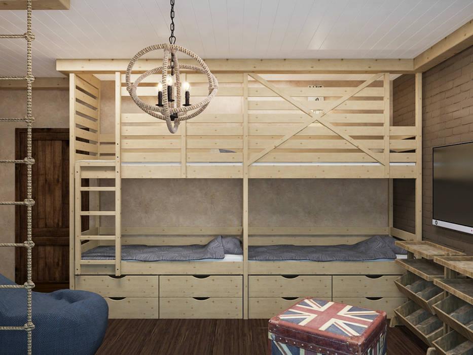 Детская: Детские комнаты в . Автор – PlatFORM