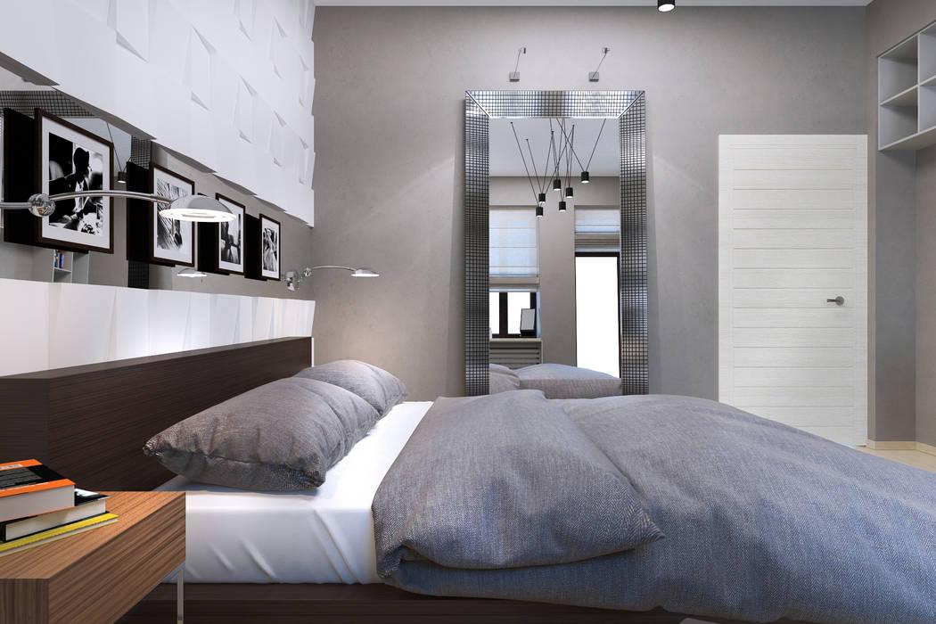 Спальная Спальня в стиле минимализм от PlatFORM Минимализм